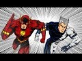 The Flash vs QuickSilver|SuperHeroes 2000