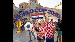 WORLD CUP 2018!! Zadar, Croatia (WE FORGOT THE PASSPORTS!!)