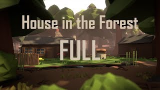 | PigArt | BLENDER Low Poly: House In The Forest [FULL]