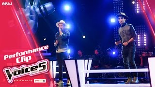 The Voice Thailand - อะตอม VS กบ - ทนได้ทุกที - 27 Nov 2016