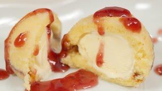 司会のワンちゃんがナビ! 夏に試したいアイスの天ぷらレシピ