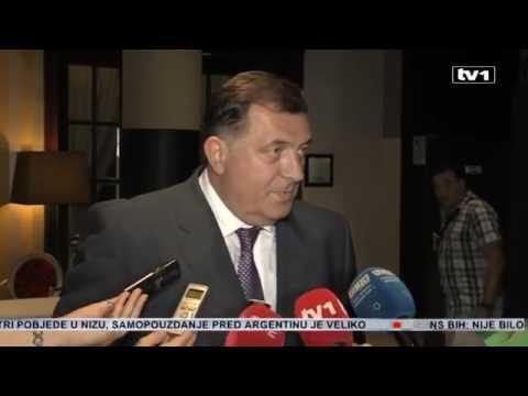Dodik novinarima u Sarajevu -  Nosite se svi dođavola