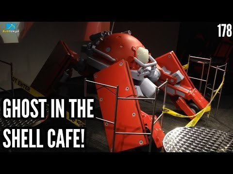 Ghost in the Shell Cafe! @Baroque Cafe Subtokyo 178