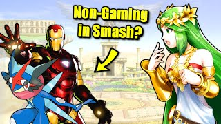 Is There Non-Gaming Content in Super Smash Bros. Ultimate?