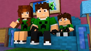 Minecraft Família #01 : O COMEÇO !!