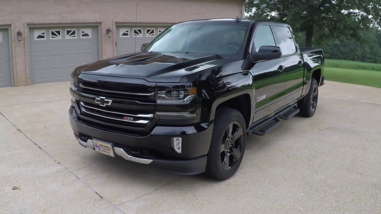 West Tn 2017 Chevrolet Silverado Z71 Real Tree 4x4 Black 6 2l V8 For