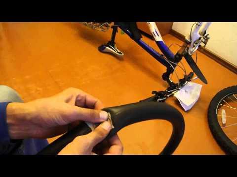 Как устранить прокол на камере велосипеда
