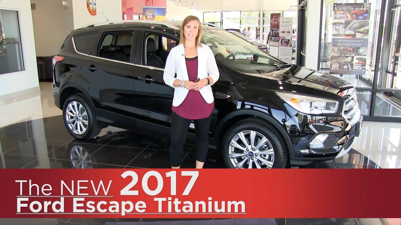 Coon Rapids Ford >> The New 2017 Ford Escape Titanium Elk River Coon Rapids