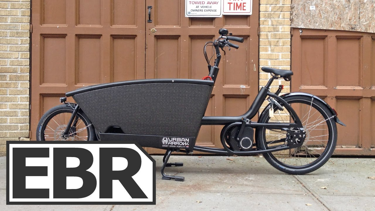 urban arrow family video review electric cargo bike. Black Bedroom Furniture Sets. Home Design Ideas