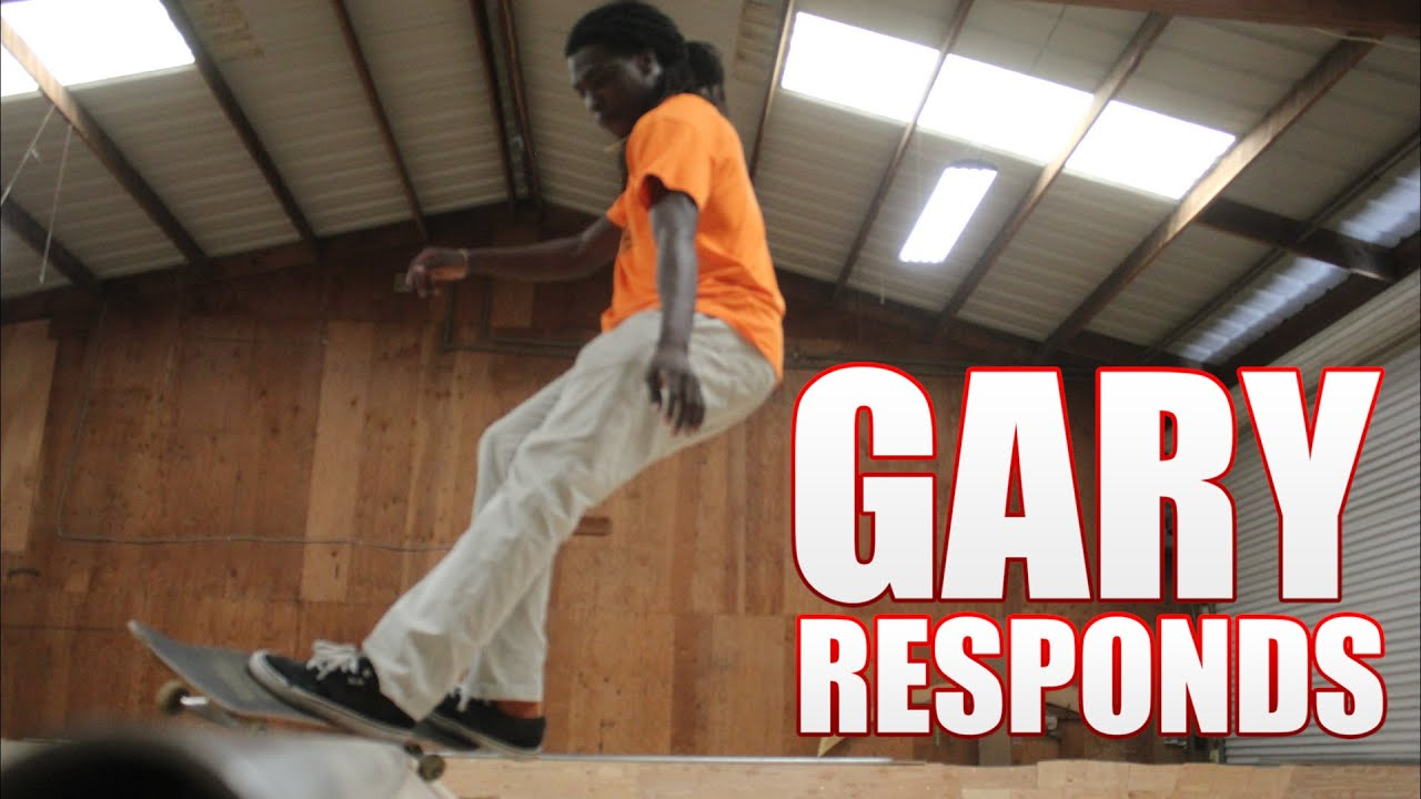 Gary Responds To Your SKATELINE Comments - Madars Apse, Chris Haslam, Cheese And Crackers
