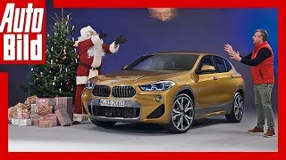 BMW X2 (F39/2017) - Bayrisches Baby-SUV-Coupé /Sitzprobe / Details / Review