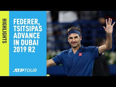 Highlights: Federer, Tsitsipas Advance On Wednesday In Dubai 2019