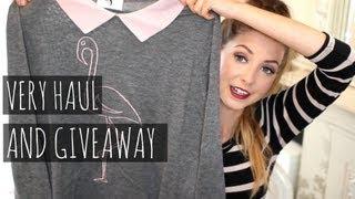 Very Haul & Giveaway | Zoella