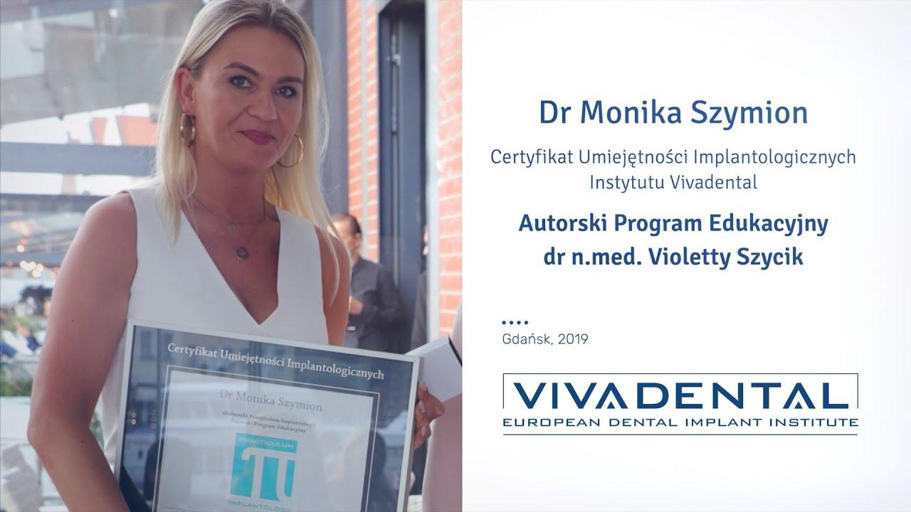 Dr Monika Szymion - więcej dzięki implantom