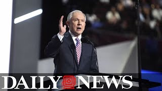 White House won't stand behind Jeff Sessions after report of rift with President Trump Free HD Video