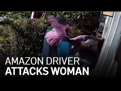 Amazon Delivery Driver Attacks Woman in Castro Valley