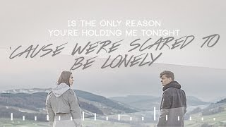 Martin Garrix  Dua Lipa - Scared To Be Lonely LYRIC VIDEO