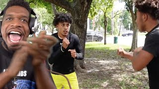 KING CID VS SMOOTH GIO! **I Pulled Up**