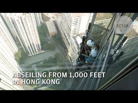 HK Vertical 1000: Abseiling in Hong Kong for charity
