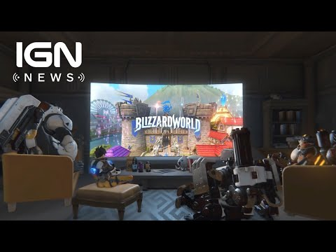 Overwatch's Blizzard World Map Release Date Announced - IGN News