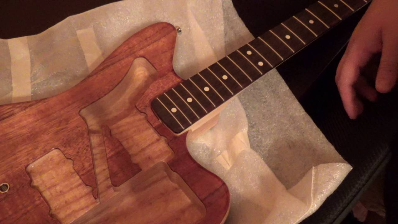 Warmoth Partscaster Build Part 4: Fitting The Neck Pocket
