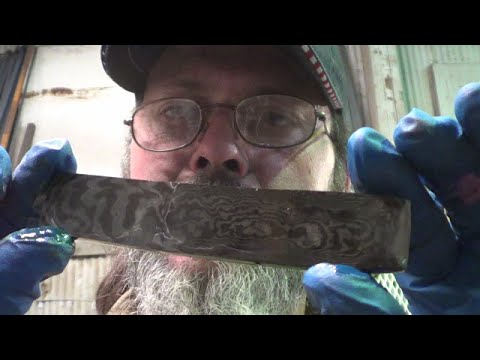 Blacksmithing - Bandsaw Blade Forge Weld Continued - Some people never know when to quit