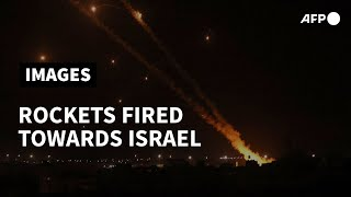 Rockets fired from Gaza towards Israel | AFP