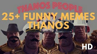 [LOL] 25+ Funny Memes Thanos in Avengers Infinity War