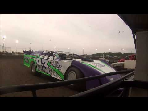 Robbie Bauman Jr | Peoria Speedway | 05.09.2015 | Steel Block Late Model Heat Race