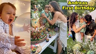 Amy Jackson Celebrated Her Cute Son Andreas' First Birthday