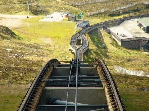 Cairngorm Funicular Railway - Scotland.
