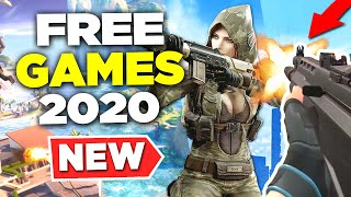 The Free Games of 2020 (NEW) (episode 1)
