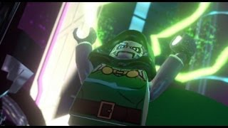 LEGO Marvel Super Heroes 100% Walkthrough Part 14 - Doom With a View (Doctor Doom Boss Fight)