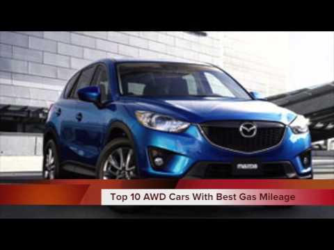 Top 10 2013 AWD Cars with Best Gas Mileage