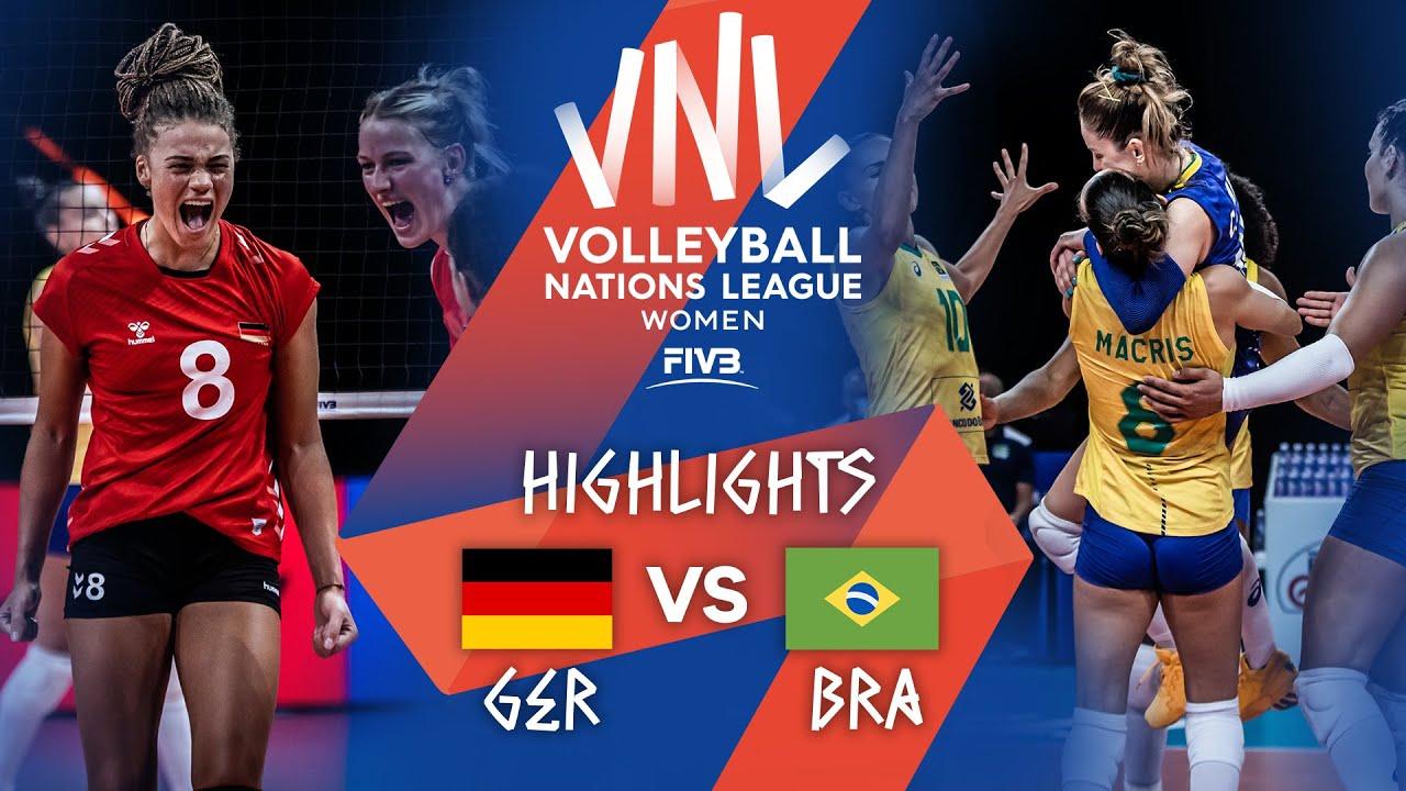 Download GER vs. BRA - Highlights Week 4   Women's VNL 2021