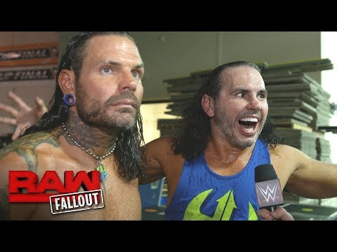 Warning: The fury of The Hardys has been awoken: Raw Fallout, July 31, 2017