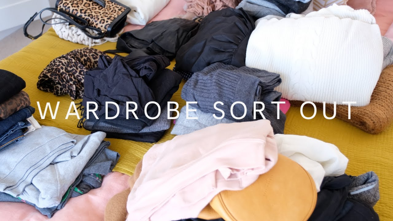 Sorting Through *EVERYTHING* In My Wardrobe | AD | The Anna Edit