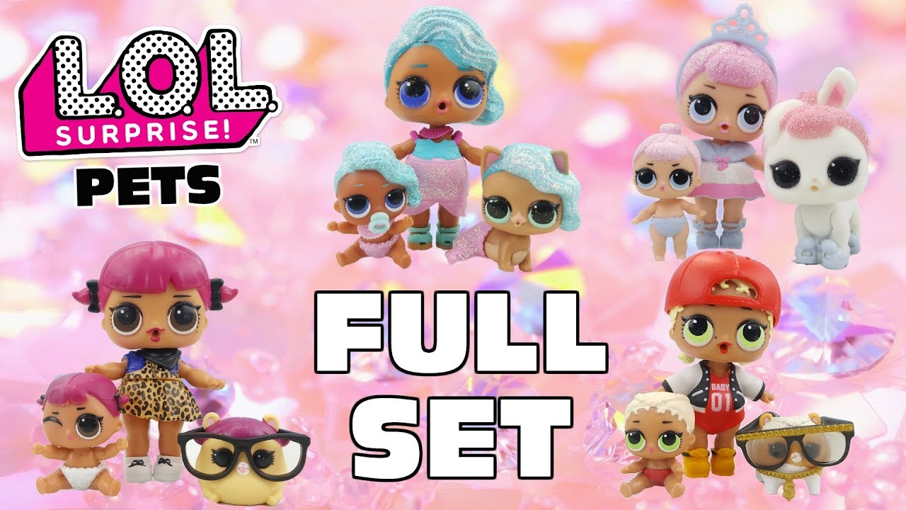 Glitter Queen Lol Doll Family