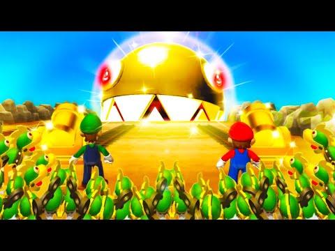Mario Party 9 Boss Rush - Mario Vs Luigi Vs Wario Vs Koopa (Master Cpu)