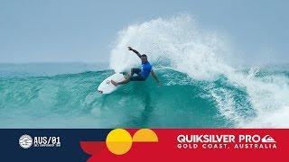 Caio Ibelli Locks Into a Barrel in Round Three - Quiksilver Gold Coast 2017