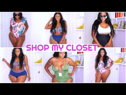 plus-size-swimsuit-try-on-haul-$5-closet-sale-ft.-wearmepro-+-giveaway!!