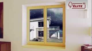 Sokółka Okna i Drzwi - energooszczędne okna drewniane linii ELITE92