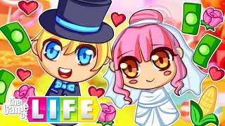 She's getting MARRIED in the game of life!
