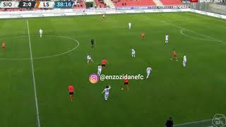Enzo Zidane vs FC Sion | First Goal for FC Lausanne-Sport (February 18, 2018)