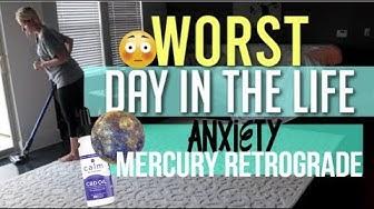WORST DAY IN THE LIFE / ANXIETY & CBD OIL / MERCURY RETROGRADE | GYPSY WIFE LIFE