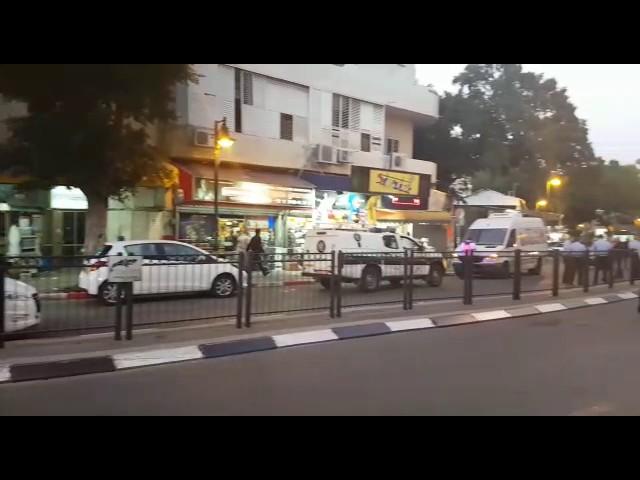 Теракт на рынке в Петах-Тикве