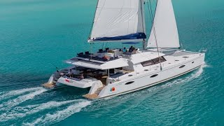 Fountaine Pajot Victoria 67 catamaran walkthrough at the Cannes Yachting Festival 2015