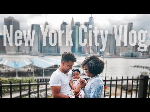 Baby Takes Flight! | NYC Vlog