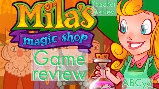 Abcya.com Mila's Magic Shop Game Review. Learn To Speak English By Watching This Game Review