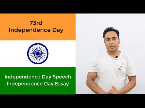 👻100% EASY 👻 Independence Day Speech and Essay (15th